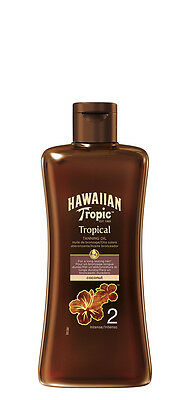 Hawaiian Tropic Professional Tanning Sun Tan Oil Intense SPF 2