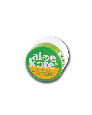 Aloe Up Kote Lip Balm for Nose Lips and Ear Sun Protection SPF 25