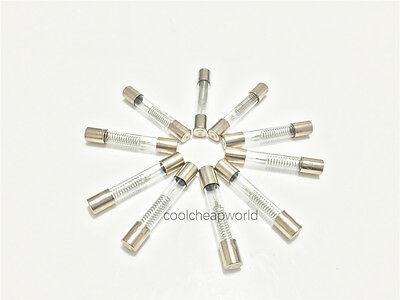 100pcs 5KV 0.8A 800mA Microwave Oven High Voltage Fuse 6x40mm