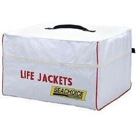 20 Inch Long x 18 Inch Wide x 12 Inch High Life Jacket Storage Bag for Boats