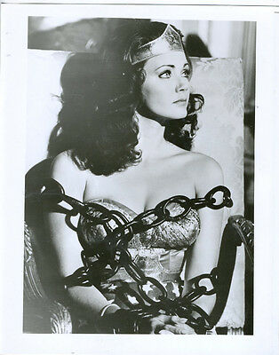 WONDER WOMAN/LYNDA CARTER/SEXY 8X10 COPY PHOTO TV360