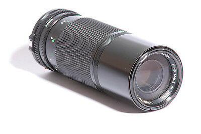 Canon FD 100-200mm f/5.6 SLR Camera Lens SN 39998