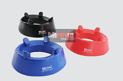 New DON Set of 3 x Standard Rugby kicking Tee Rugby Union  ( Blue/ Red/ Black)