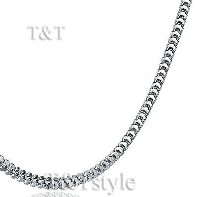 Top Quality T&T 1.5mm 316L Stainless Steel Box Chain (C40)