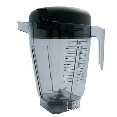 Container / Pitcher fits Vita-Mix 1.5 Gallon XL 15899 with blade & Lid 26608