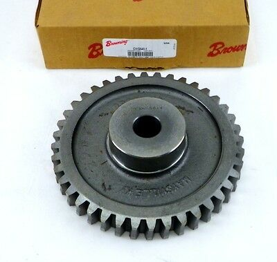 "BROWNING CWG640-1 7"" x 1"" Arbor 40 Tooth Cast Iron Worm Gear 2G"