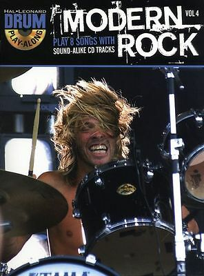 Drum Play-Along Learn to Play Modern Rock Radiohead Music Book & CD JET KILLERS