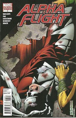 Alpha Flight #3 Eaglesham Variant