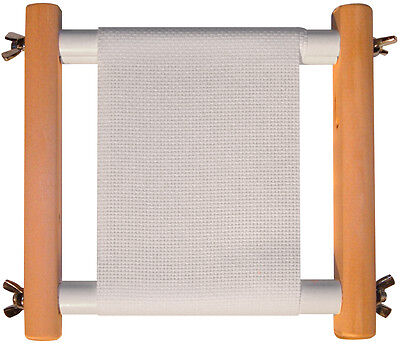 Clip-'n'-Sew Roller Frame for Cross Stitch/Embroidery