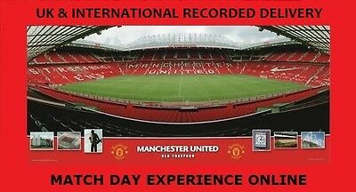Manchester United Framed Stadium Picture Official RED