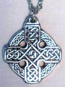 Alesian`s Cross  Necklace ( Pewter) ~~ 25 % off ~~