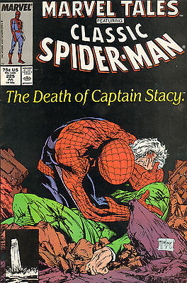 Classic Spiderman 225 - Death Of Captain Stacy (1989)
