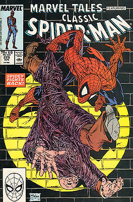 CLASSIC SPIDERMAN 226 - To Smash the Spider (1989)