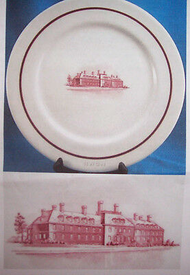 SHENANGO RESTAURANT WARE HOME BENEFICIAL LIFE INSURANCE COMPANY CHOP PLATE