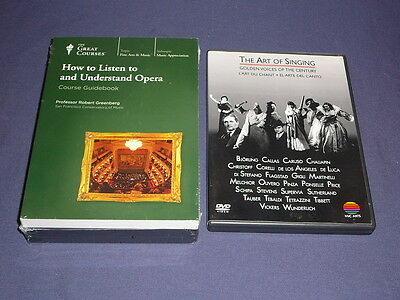 Teaching Co Great Courses DVDs     HOW TO LISTEN to and UNDERSTAND OPERA + bonus