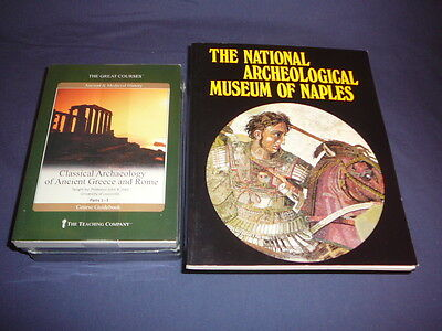 Teaching Co Great Courses DVD     CLASSICAL ARCHAEOLOGY of GREECE ROME   + bonus