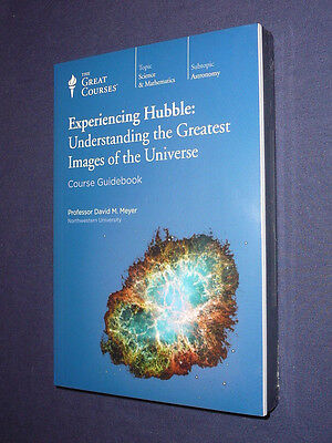 Teaching Co Great Courses  DVDs            EXPERIENCING  HUBBLE    new & sealed