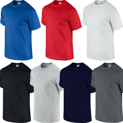 Gildan Big Mens 100% Cotton T-Shirt Xl,2Xl,3Xl,4Xl,5Xl