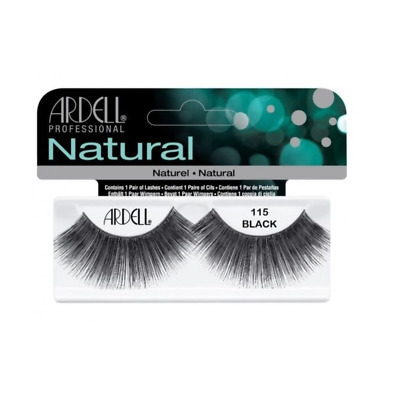 ARDELL 100% HUMAN HAIR FALSE EYELASHES LASHES Fashion 115 dramatic- think TOWIE!
