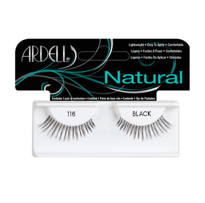 ARDELL 100% HUMAN HAIR FALSE EYELASHES LASHES Fashion 116 natural looking