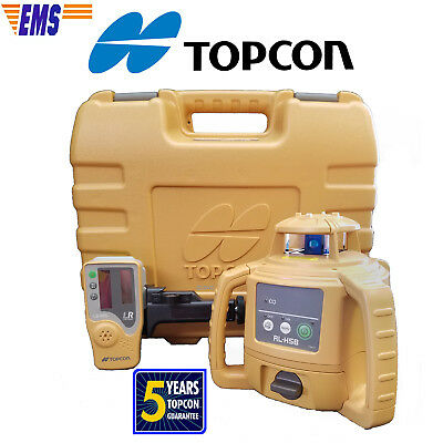Topcon RL-H4C DB (Alkaline) Rotating Laser Level with Free Priority Express