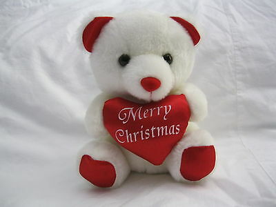 A Cute  And Soft Teddy Bear For  Christmas