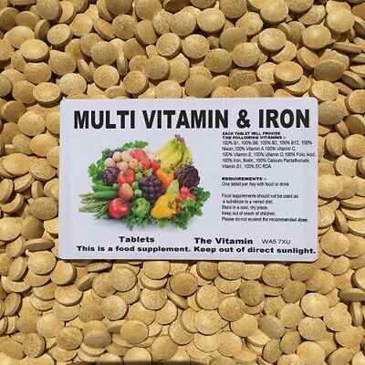The Vitamin Multivitamins and Iron 365 Tablets - Bagged