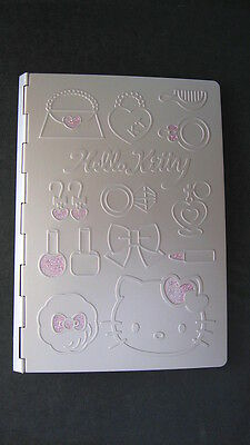 Sanrio Hello Kitty Pink Girly Organizer Metal Embossed  Vintage 1976-2004 New