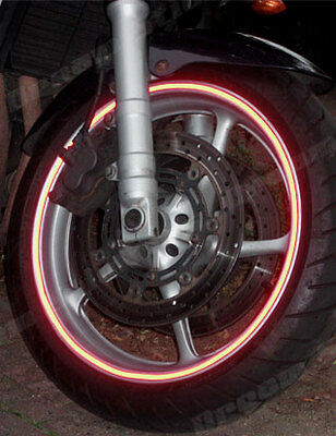 Reflective  Motorcycles Wheel Rim Tapes 6Mm Or 10Mm