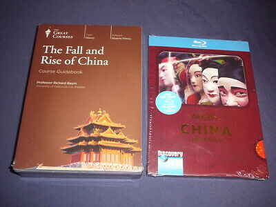 Teaching Co Great Courses  DVDs        THE FALL and RISE OF CHINA   new  + BONUS