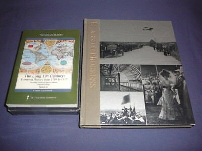 Teaching Co Great Courses  DVDs         THE LONG 19th CENTURY    new + BONUS