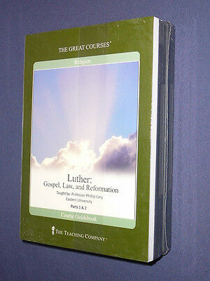 Teaching Co Great Courses  DVDs         MARTIN  LUTHER            new + BONUS