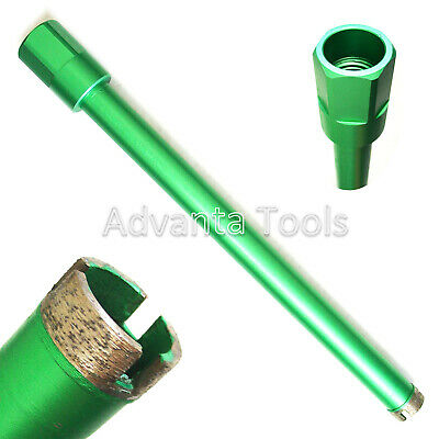 "1-3/8"" Wet Diamond Core Drill Bit for Concrete - Premium Green Series"