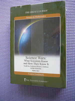 Teaching Co Great Courses  DVDs           SCIENCE  WARS        new & sealed