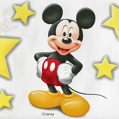 Disney's  MICKEY MOUSE & BIG STARS - ONLY $6 -  Wallpaper Border 4