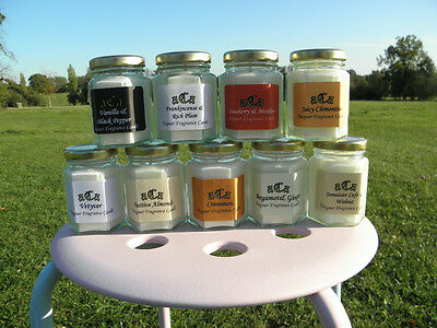 a.a Conniseurs Vintage Gold Hexagnal Designer Candles Plus 1 Scented Oil FREE)