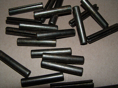 Roll/Spring Pins Carbon Steel 3/8x2 - Lot of 5 pcs