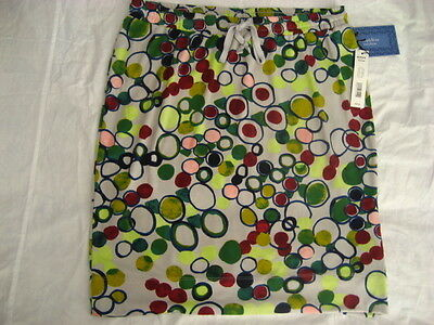 Simply Vera Wang Womans Skirt Size Xsmall Small Medium Multicolor Nwt $48