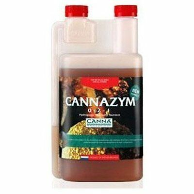 Canna Cannazym 1 Liter 1L Enzyme Additive Nutrient Hydroponic