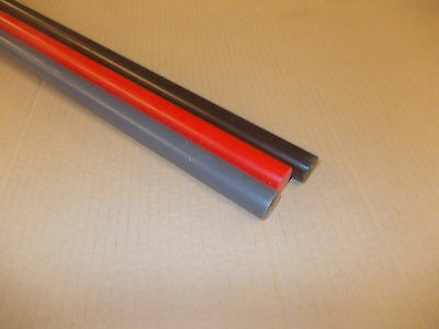 Pvc Rod 25Mm Diameter X 500Mm Length X 1 Piece