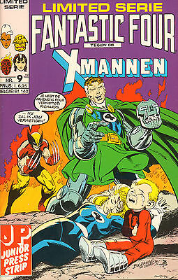 Limited Serie 09 - Fantastic Four Tegen De X-Mannen (Junior Press , 1989)