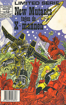 Limited Serie 13 - New Mutants Tegen De X-Mannen (Junior Press , 1990)