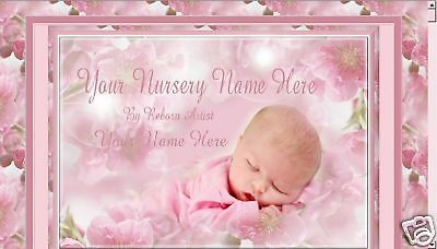 ♥CHERRY BLOSSOM & BABY KISSES REBORN AUCTION TEMPLATE ♥