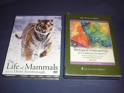 Teaching Co Great Courses  DVDs          BIOLOGICAL  ANTHROPOLOGY    new + BONUS