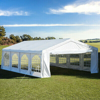 Quictent 4 x 8M 2017 NEW Party Wedding Tent Gazebo Marquee Canopy Carport White
