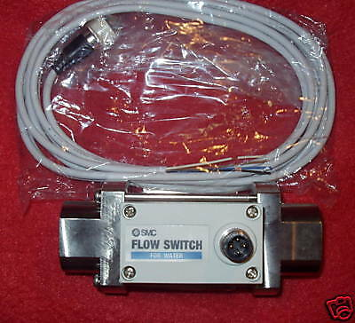 SMC Digital Flow Switch for Hot Water, PF2W520T-03