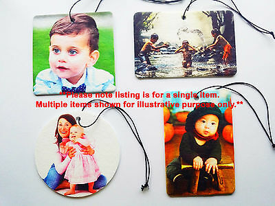 Custom Personalised Picture Car Air Freshener
