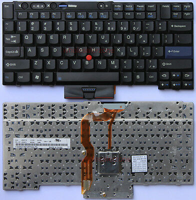 NEW IBM/Lenovo Thinkpad T400S T410S US Keyboard 45N2211