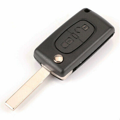 Peugeot 207 307 308 407 807 Partner Funda Carcasa Llave Mando - New Case Key
