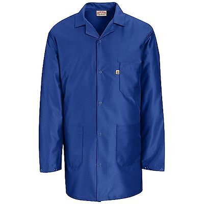 ESD Anti-Static Premium Lab Jacket Coat Unisex KK26 Red Kap Blue or White 2nd